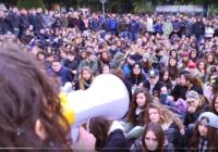 Flash Mob e Assemblee studenti provincia di Caserta alle manifestazioni di gennaio 2017